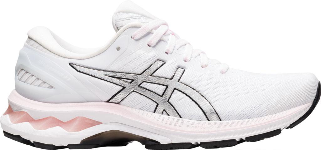 Women's ASICS GEL-Kayano 27 Running Sneaker, Pink Salt/Pure Silver, large, image 2