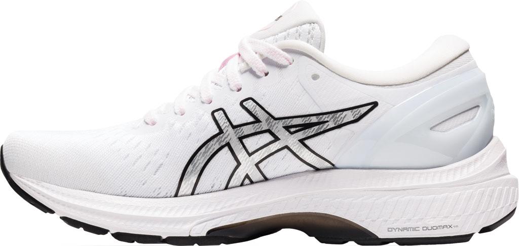 Women's ASICS GEL-Kayano 27 Running Sneaker, Pink Salt/Pure Silver, large, image 3