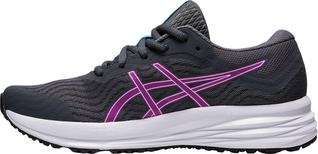 Women's ASICS Patriot 12 Running Sneaker, Carrier Grey/Digital Grape, large, image 3