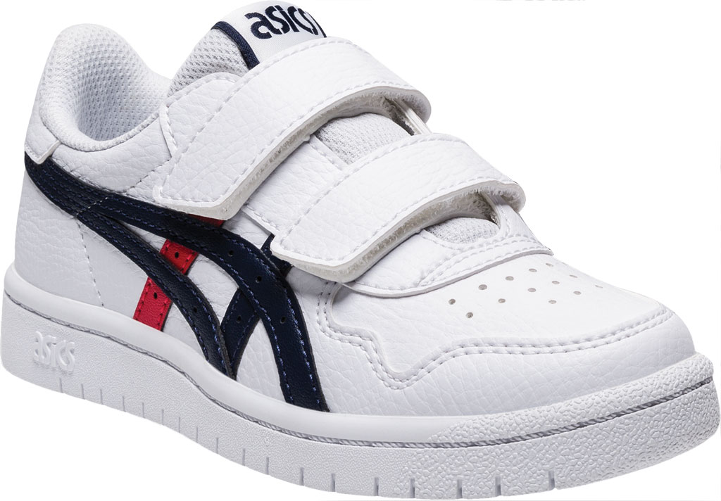 Children's ASICS Japan S PS Sneaker, White/Classic Red, large, image 1