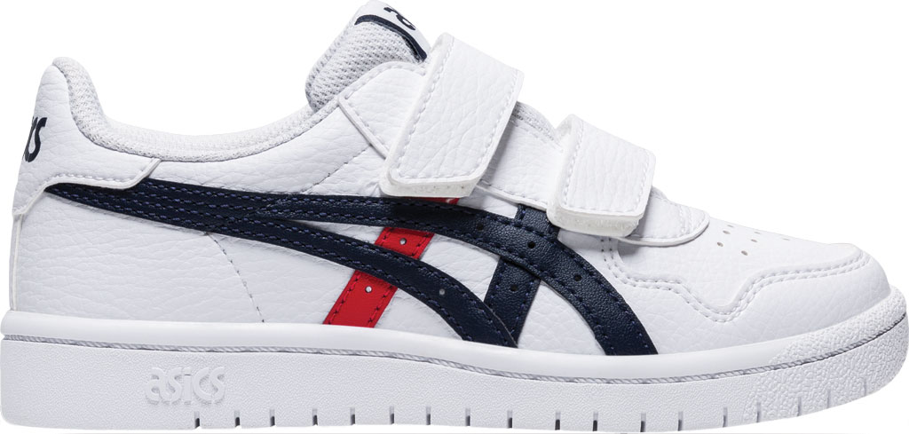 Children's ASICS Japan S PS Sneaker, White/Classic Red, large, image 2