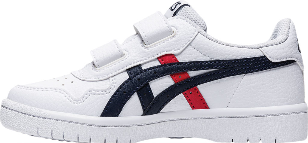 Children's ASICS Japan S PS Sneaker, White/Classic Red, large, image 3
