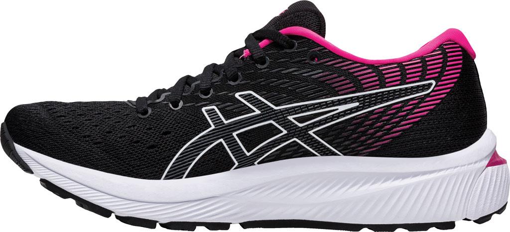 Women's ASICS GEL-Cumulus 22 Running Sneaker, Black/Pink Glo, large, image 3