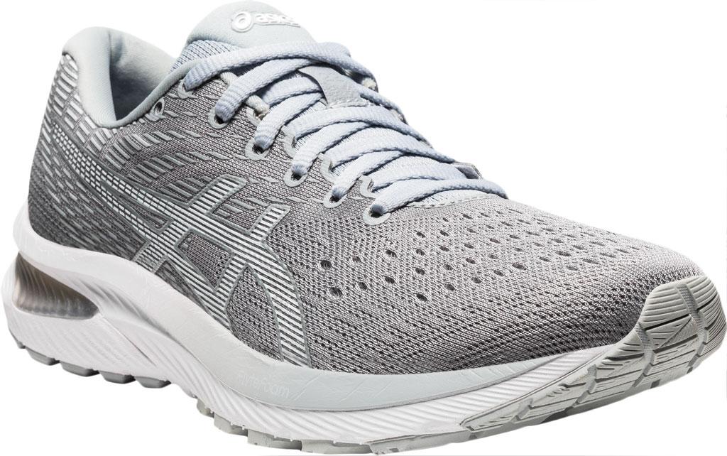 Women's ASICS GEL-Cumulus 22 Running Sneaker, Piedmont Grey/White, large, image 1