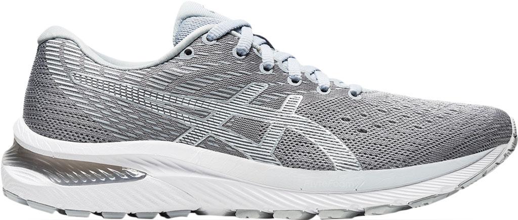 Women's ASICS GEL-Cumulus 22 Running Sneaker, Piedmont Grey/White, large, image 2