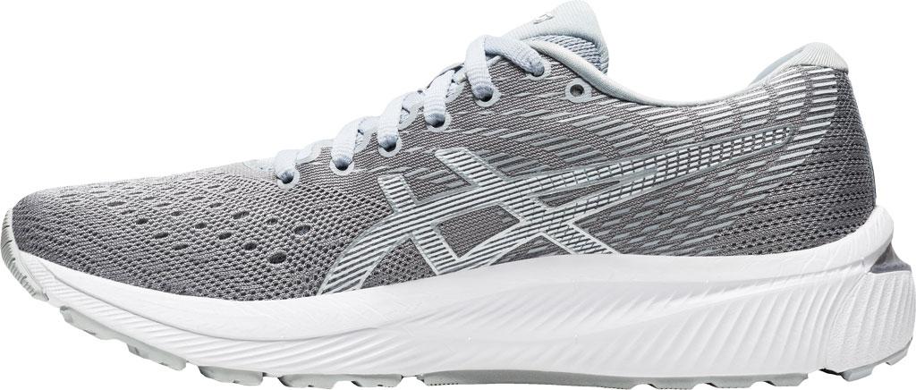 Women's ASICS GEL-Cumulus 22 Running Sneaker, Piedmont Grey/White, large, image 3
