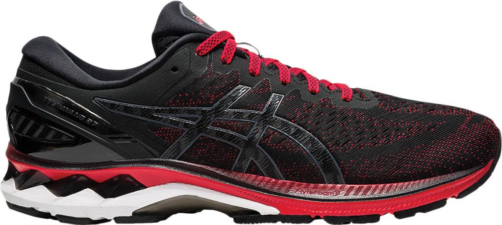 Men's ASICS GEL-Kayano 27 Running Sneaker, Classic Red/Black, large, image 2