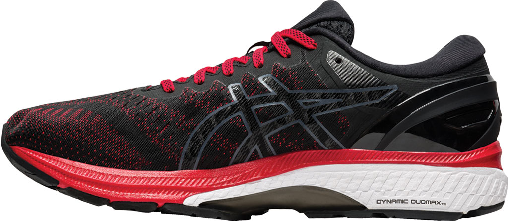 Men's ASICS GEL-Kayano 27 Running Sneaker, Classic Red/Black, large, image 3