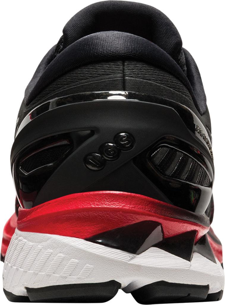 Men's ASICS GEL-Kayano 27 Running Sneaker, Classic Red/Black, large, image 4