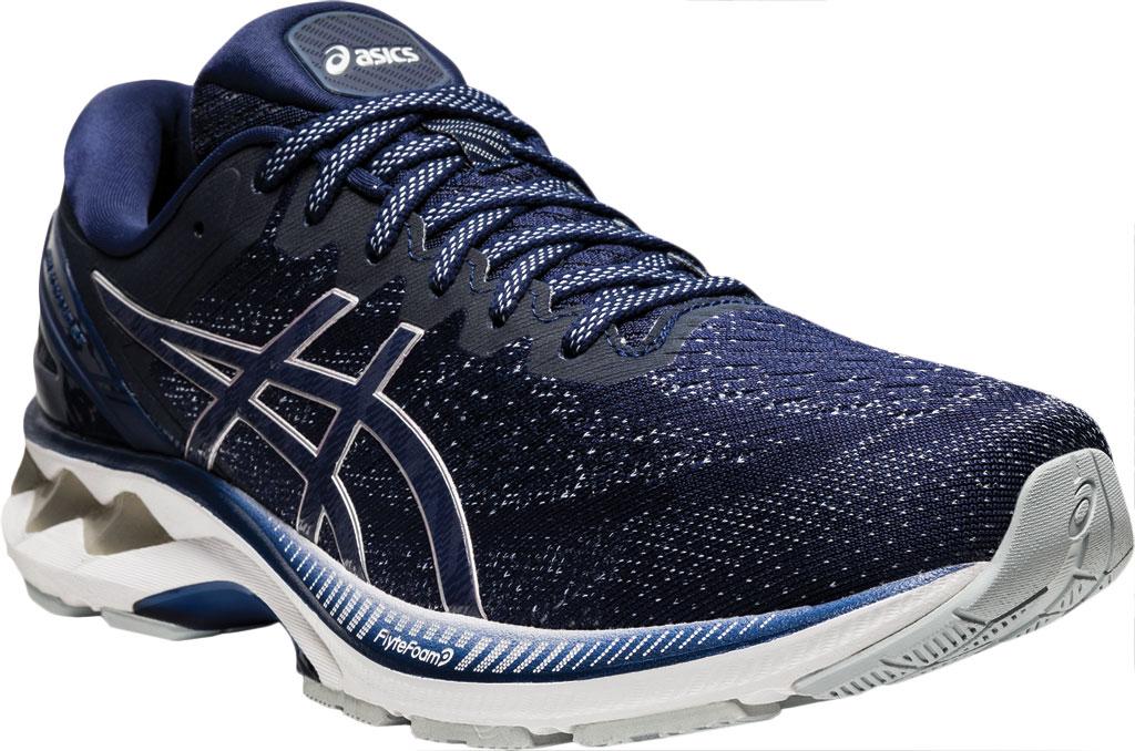 Men's ASICS GEL-Kayano 27 Running Sneaker, Peacoat/Piedmont Grey, large, image 1
