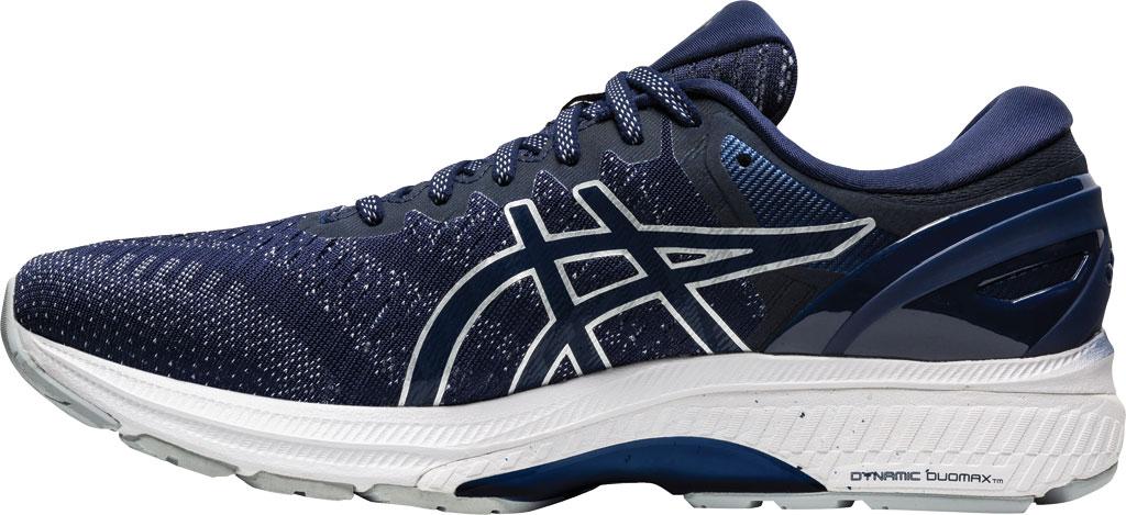 Men's ASICS GEL-Kayano 27 Running Sneaker, Peacoat/Piedmont Grey, large, image 3