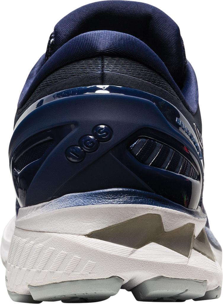 Men's ASICS GEL-Kayano 27 Running Sneaker, Peacoat/Piedmont Grey, large, image 4