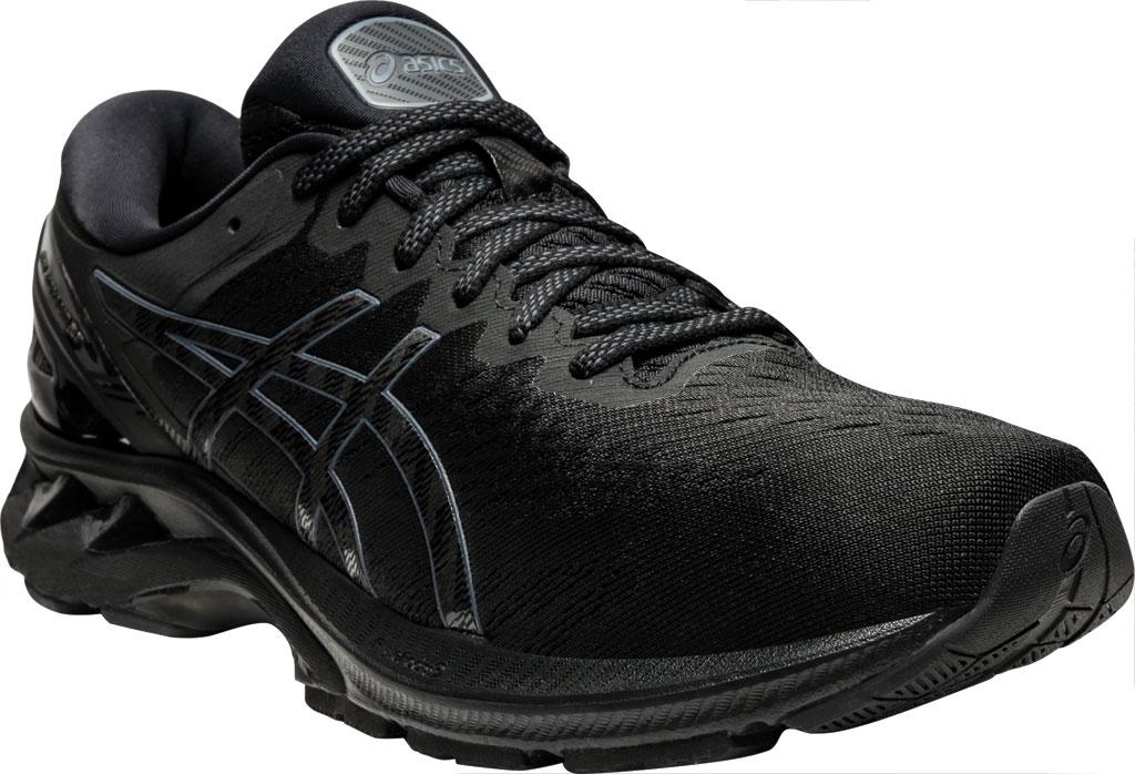 Men's ASICS GEL-Kayano 27 Running Sneaker, Black/Black, large, image 1