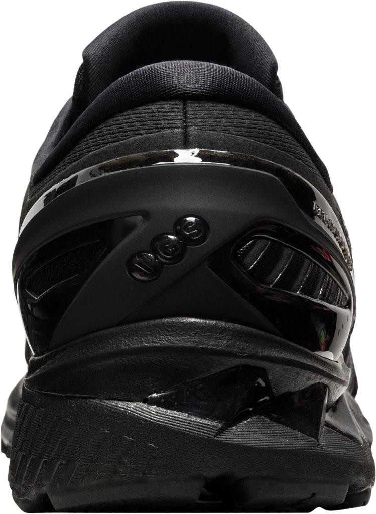 Men's ASICS GEL-Kayano 27 Running Sneaker, Black/Black, large, image 4