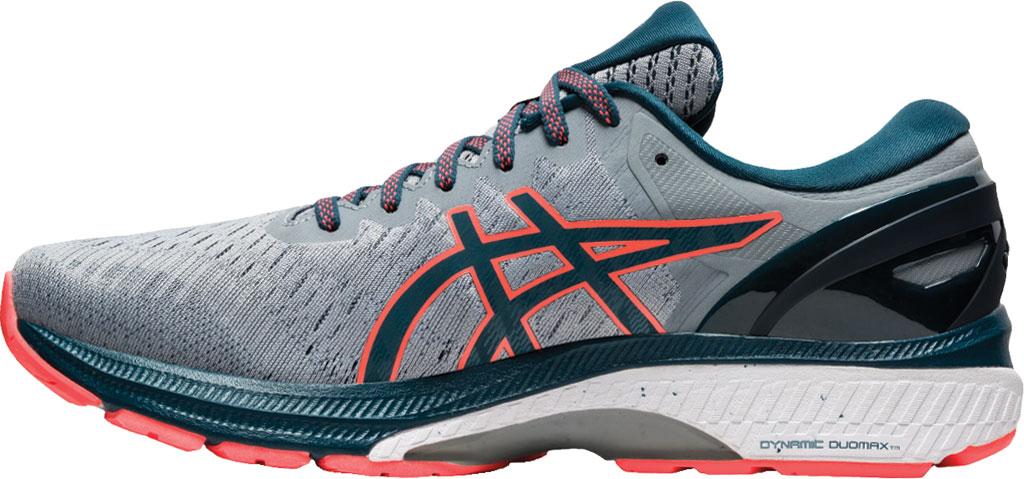 Men's ASICS GEL-Kayano 27 Running Sneaker, Sheet Rock/Magnetic Blue, large, image 3
