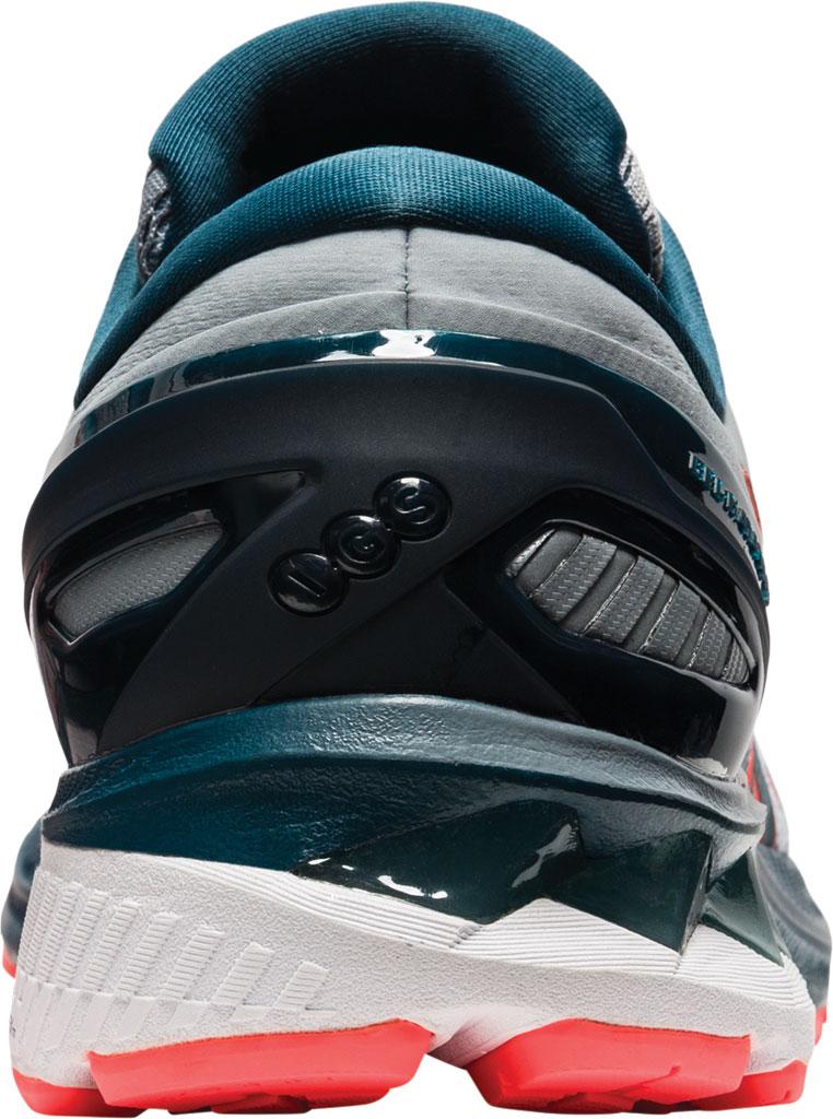 Men's ASICS GEL-Kayano 27 Running Sneaker, Sheet Rock/Magnetic Blue, large, image 4