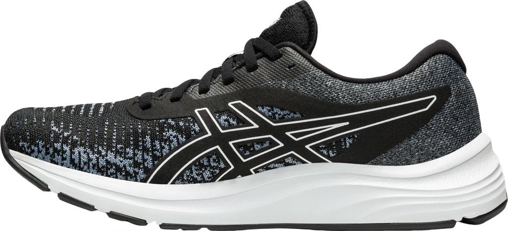 Men's ASICS GEL-Pulse 12 Running Sneaker, Black/White, large, image 3