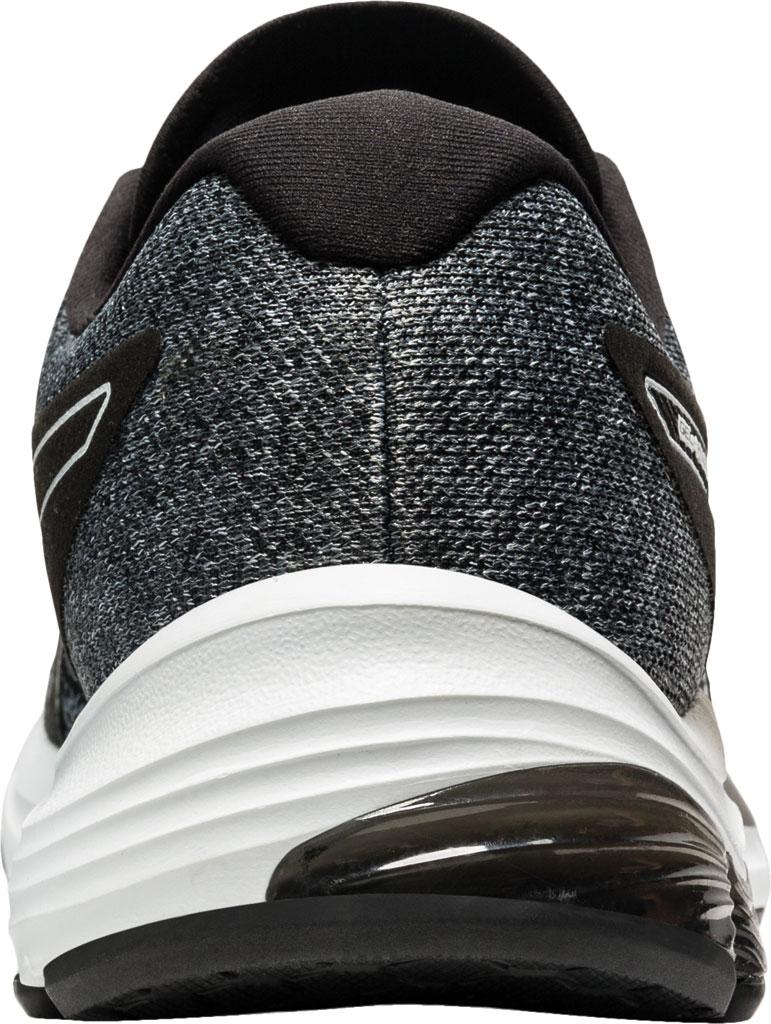 Men's ASICS GEL-Pulse 12 Running Sneaker, Black/White, large, image 4