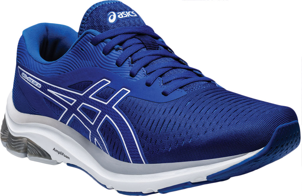 Men's ASICS GEL-Pulse 12 Running Sneaker, Asics Blue/ Asics Blue, large, image 1