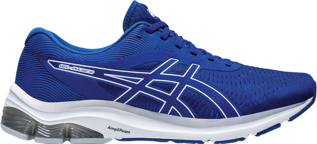 Men's ASICS GEL-Pulse 12 Running Sneaker, Asics Blue/ Asics Blue, large, image 2