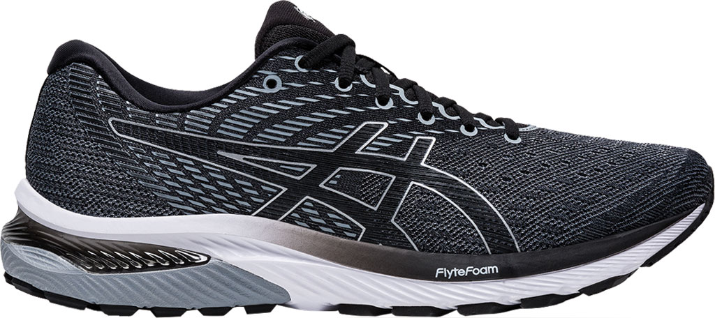 Men's ASICS GEL-Cumulus 22 Running Sneaker, Sheet Rock/Black, large, image 2
