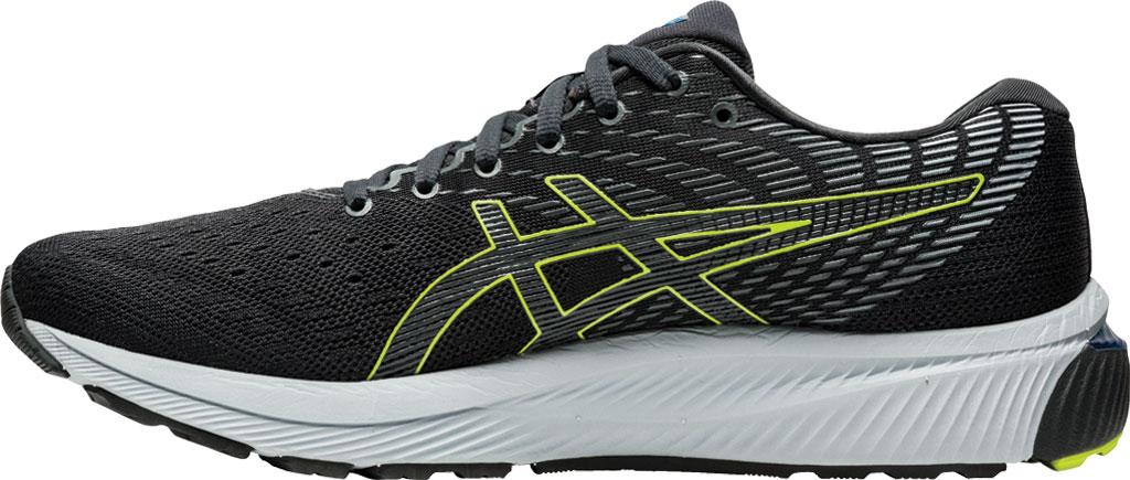 Men's ASICS GEL-Cumulus 22 Running Sneaker, Graphite Grey/Lime Zest, large, image 3