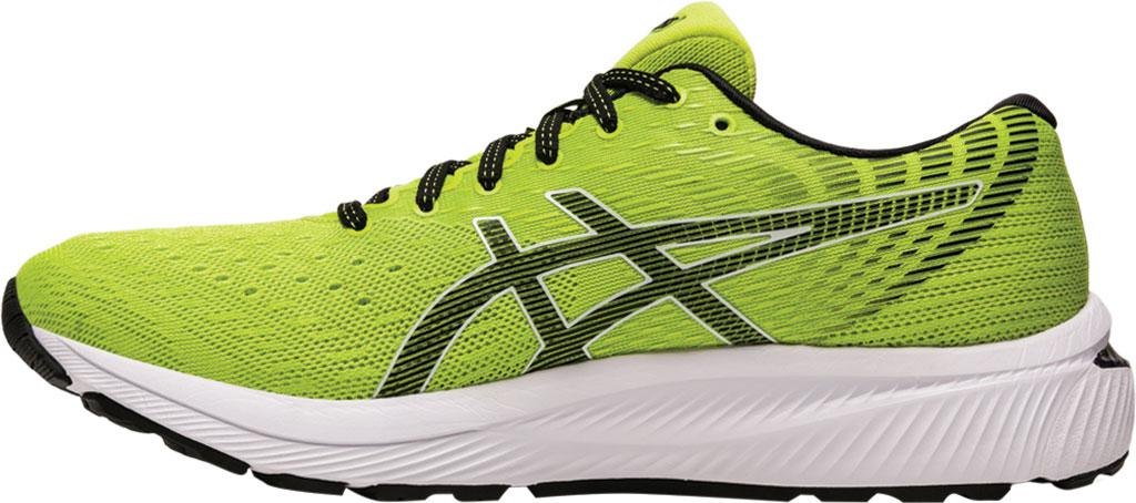 Men's ASICS GEL-Cumulus 22 Running Sneaker, Lime Zest/Black, large, image 3