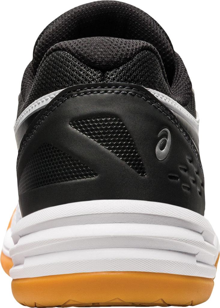 Women's ASICS Upcourt 4 Sneaker, White/Black, large, image 4