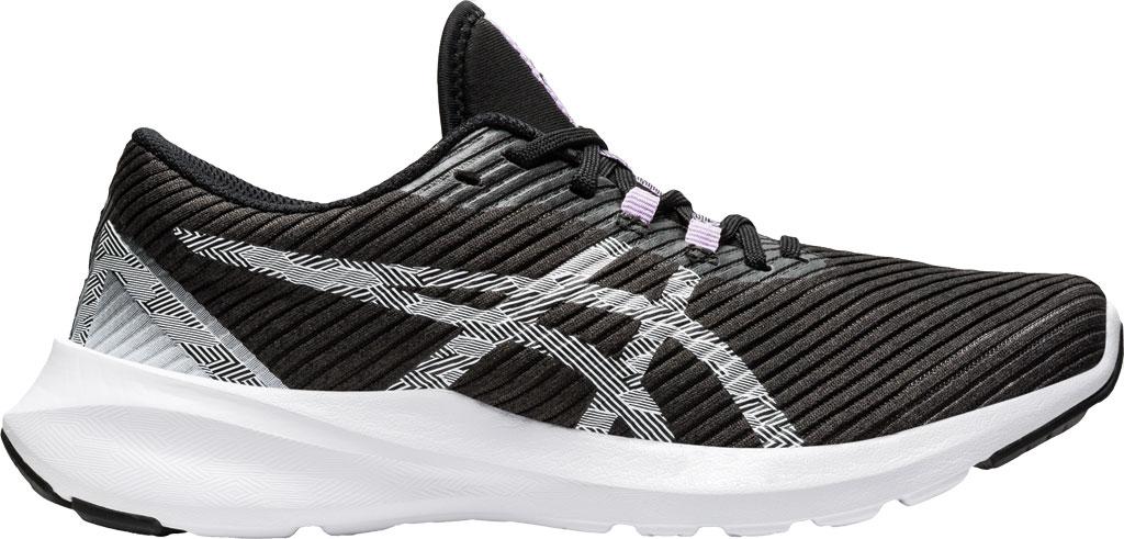 Women's ASICS Versablast Running Sneaker, Black/White, large, image 2