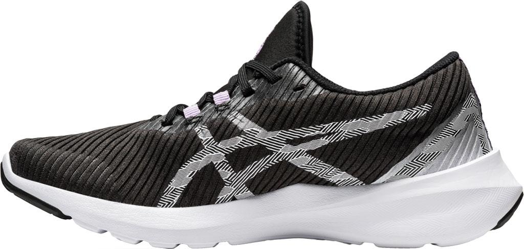 Women's ASICS Versablast Running Sneaker, Black/White, large, image 3