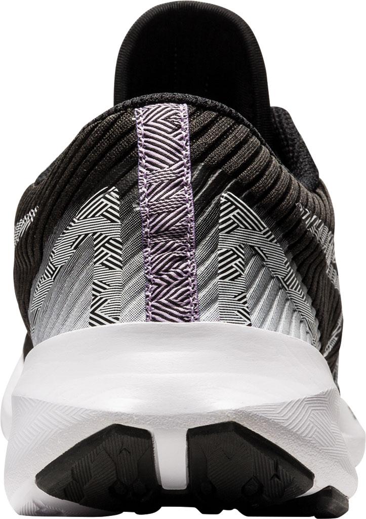 Women's ASICS Versablast Running Sneaker, Black/White, large, image 4
