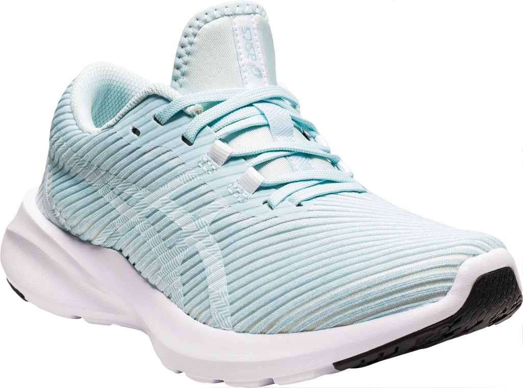 Women's ASICS Versablast Running Sneaker, Aqua Angel/White, large, image 1
