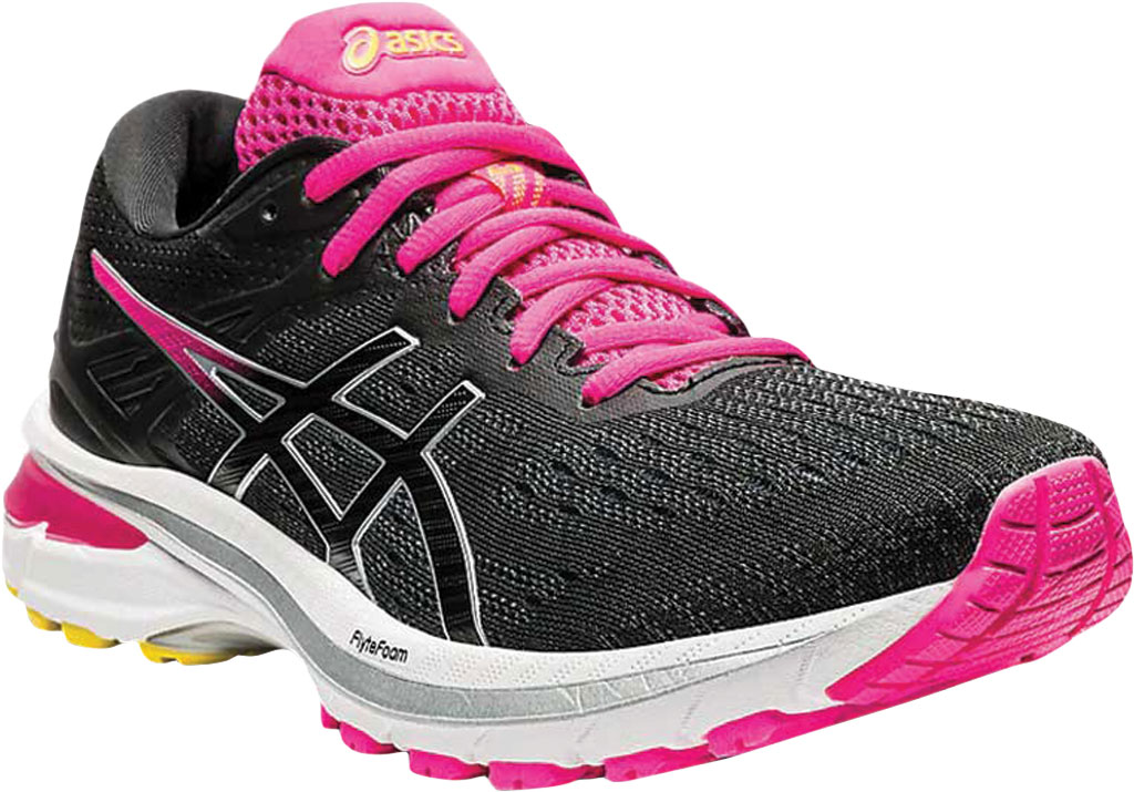 Women's ASICS GT-2000 9 Running Sneaker, Graphite Grey/Black, large, image 1