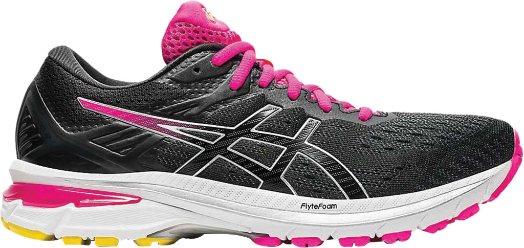 Women's ASICS GT-2000 9 Running Sneaker, Graphite Grey/Black, large, image 2