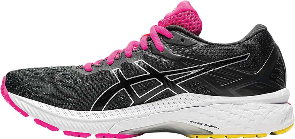 Women's ASICS GT-2000 9 Running Sneaker, Graphite Grey/Black, large, image 3