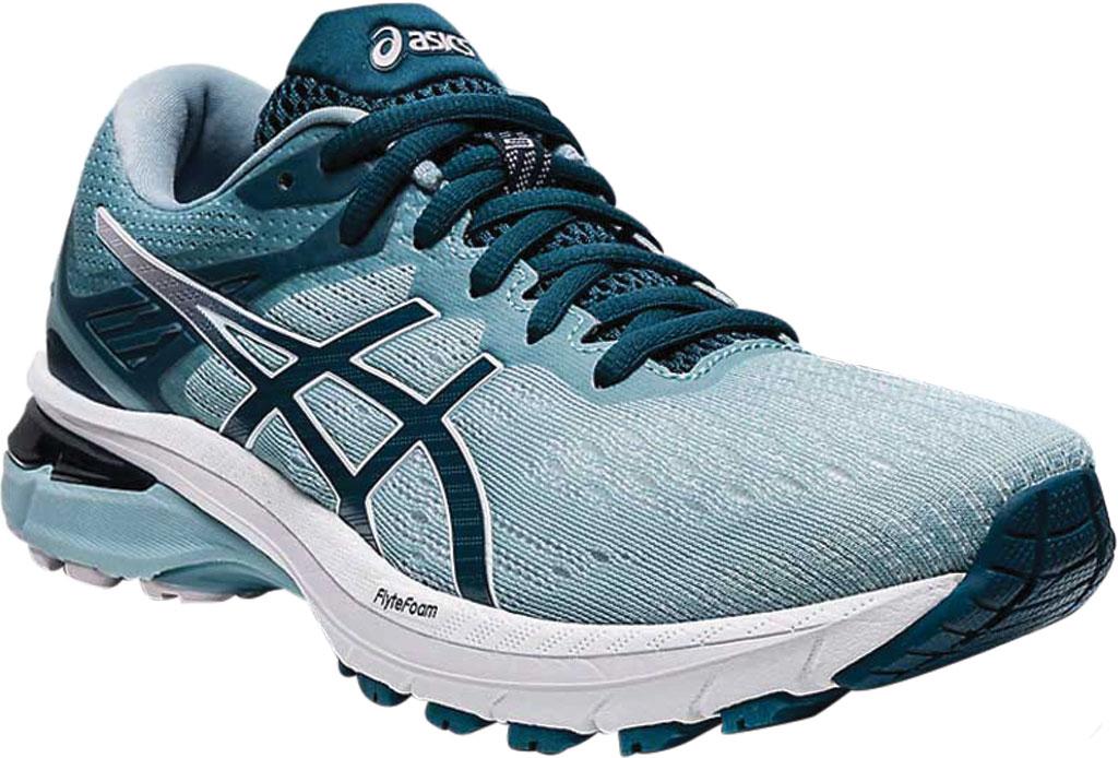 Women's ASICS GT-2000 9 Running Sneaker, Light Steel/Magnetic Blue, large, image 1