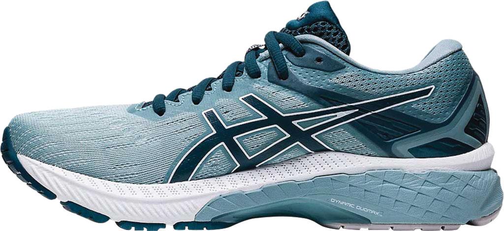 Women's ASICS GT-2000 9 Running Sneaker, Light Steel/Magnetic Blue, large, image 3