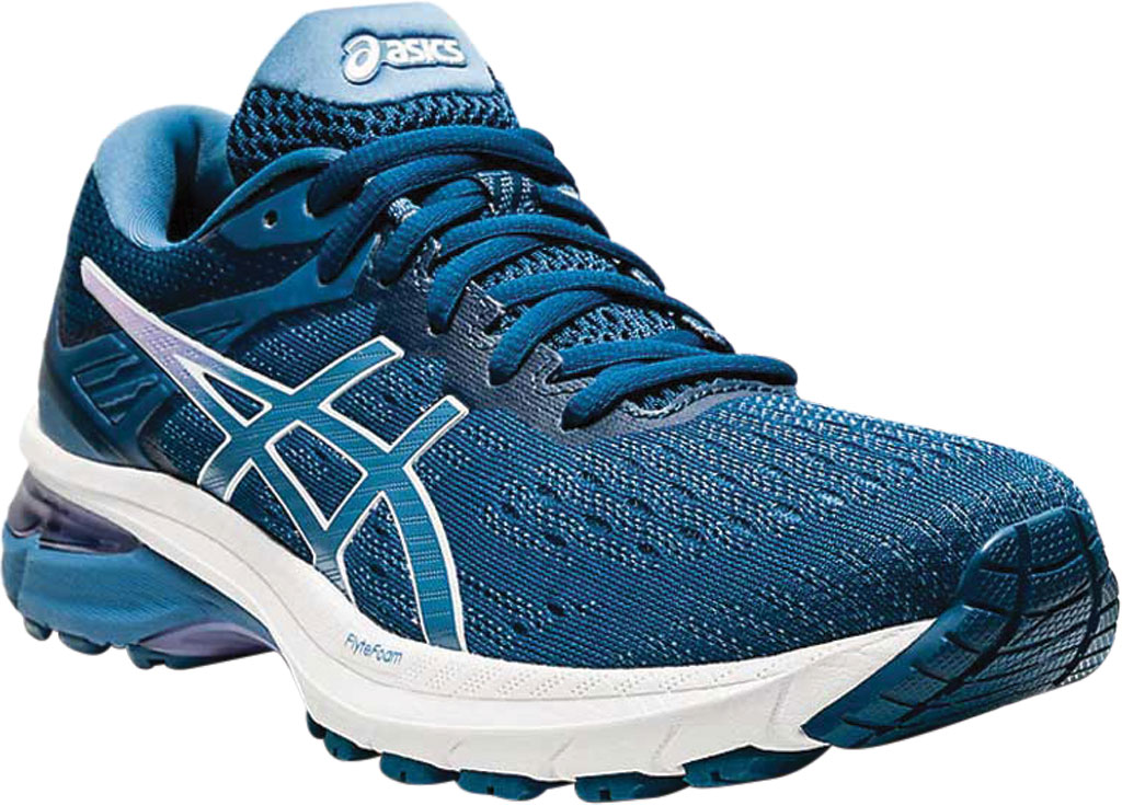 Women's ASICS GT-2000 9 Running Sneaker, Mako Blue/Grey Floss, large, image 1
