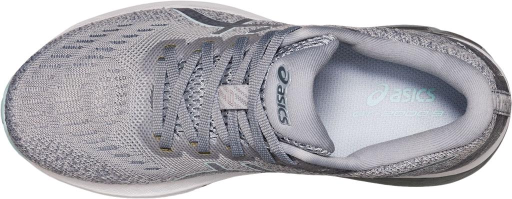 Women's ASICS GT-2000 9 Running Sneaker, Piedmont Grey/Aqua Angel, large, image 5