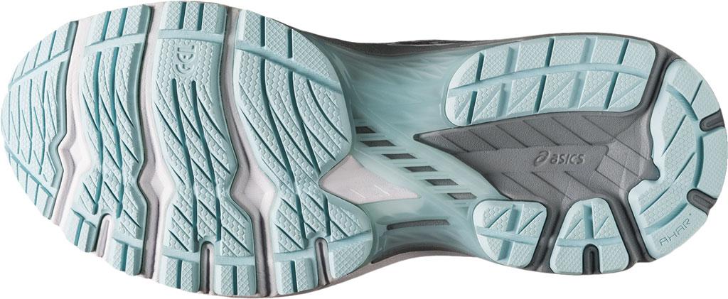 Women's ASICS GT-2000 9 Running Sneaker, Piedmont Grey/Aqua Angel, large, image 6
