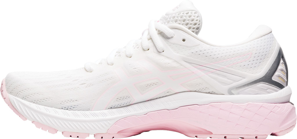 Women's ASICS GT-2000 9 Running Sneaker, White/Pink Salt, large, image 3