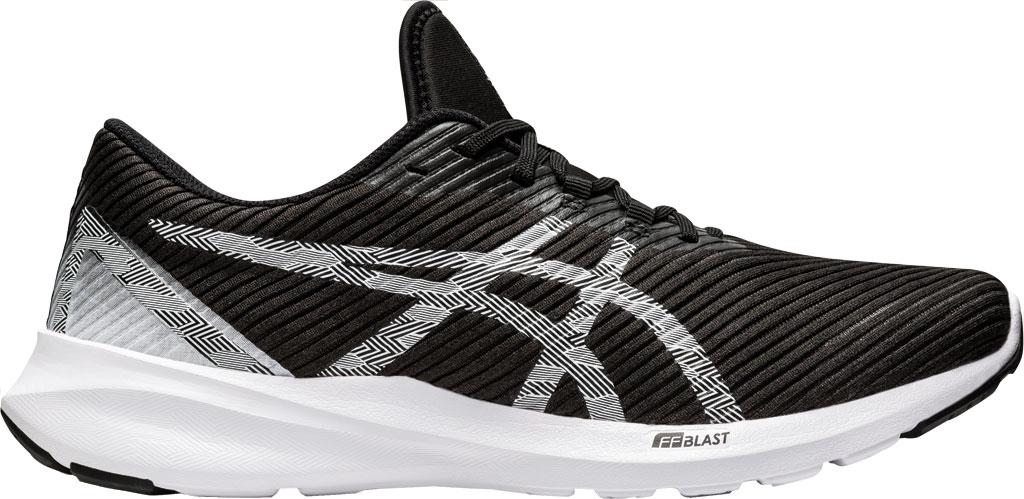 Men's ASICS Versablast Running Sneaker, Black/White, large, image 2