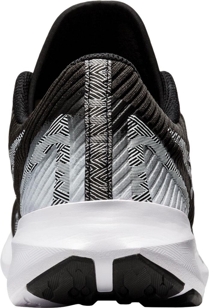 Men's ASICS Versablast Running Sneaker, Black/White, large, image 4