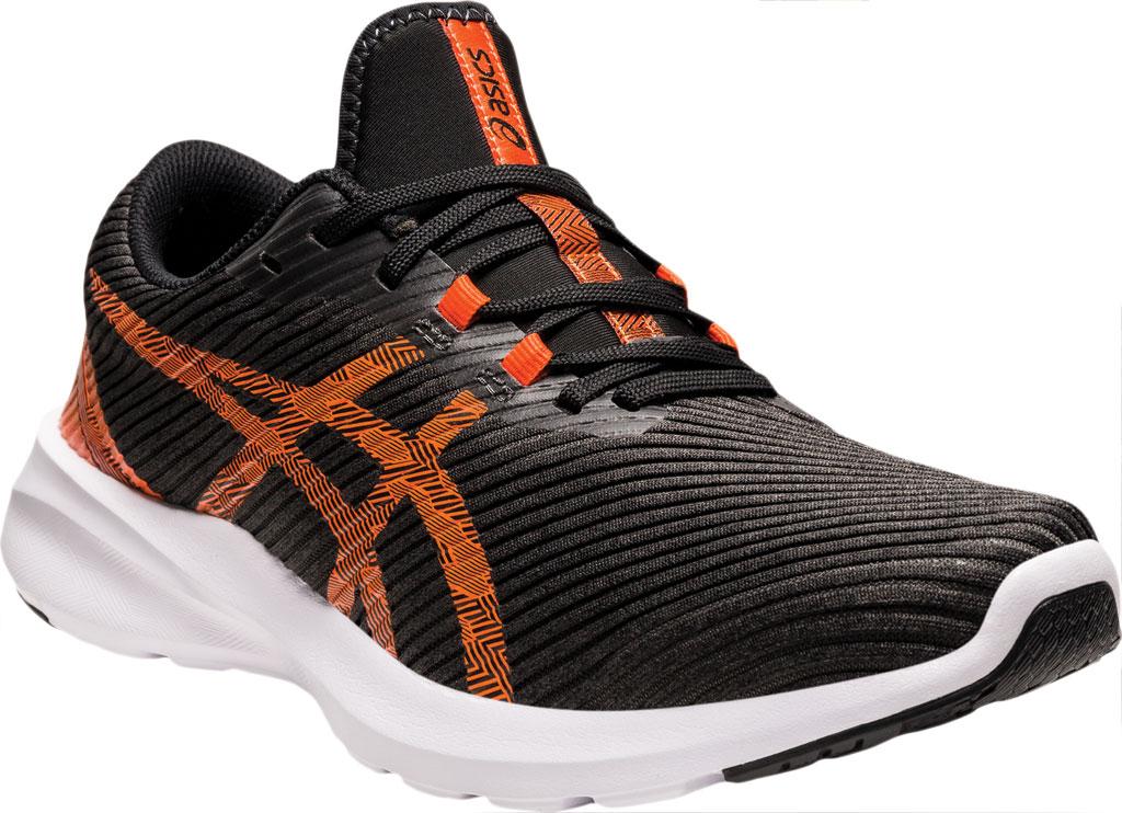 Men's ASICS Versablast Running Sneaker, Black/Marigold Orange, large, image 1