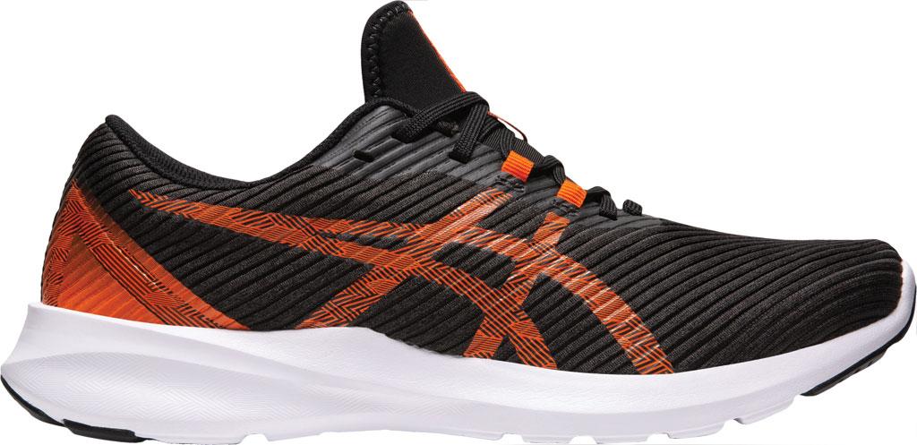 Men's ASICS Versablast Running Sneaker, Black/Marigold Orange, large, image 2