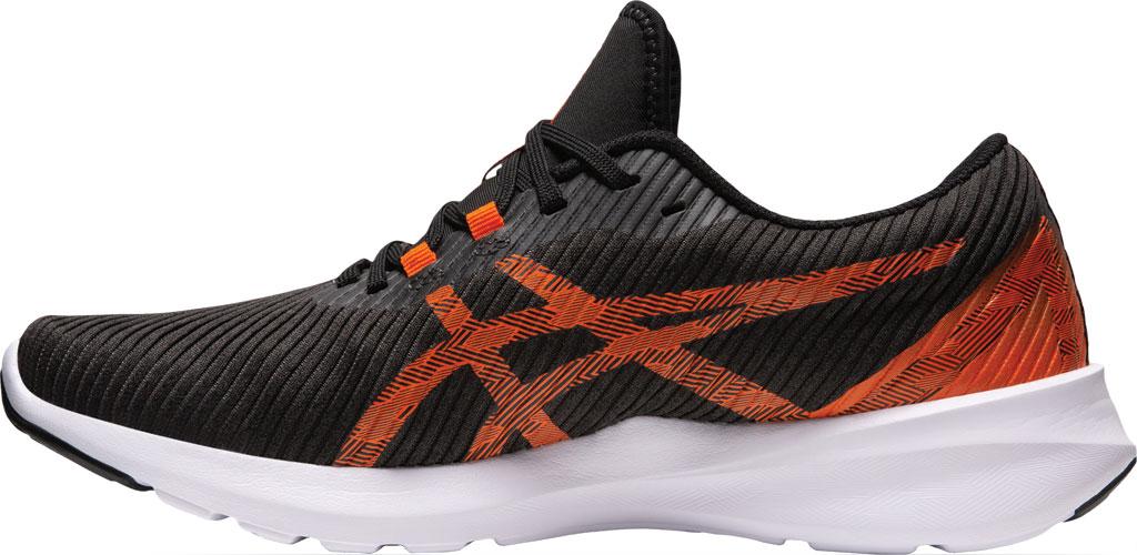Men's ASICS Versablast Running Sneaker, Black/Marigold Orange, large, image 3