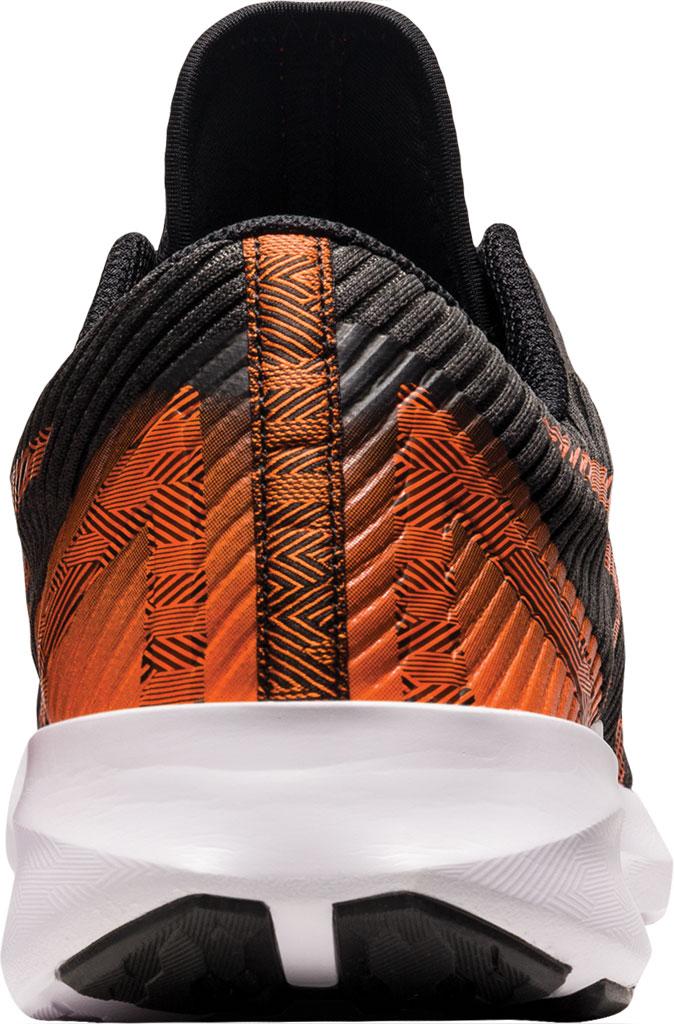 Men's ASICS Versablast Running Sneaker, Black/Marigold Orange, large, image 4