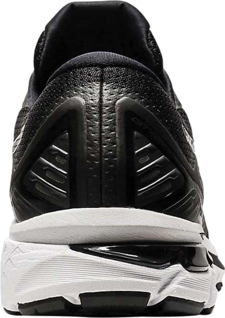 Men's ASICS GT-2000 9 Running Sneaker, Black/White, large, image 4