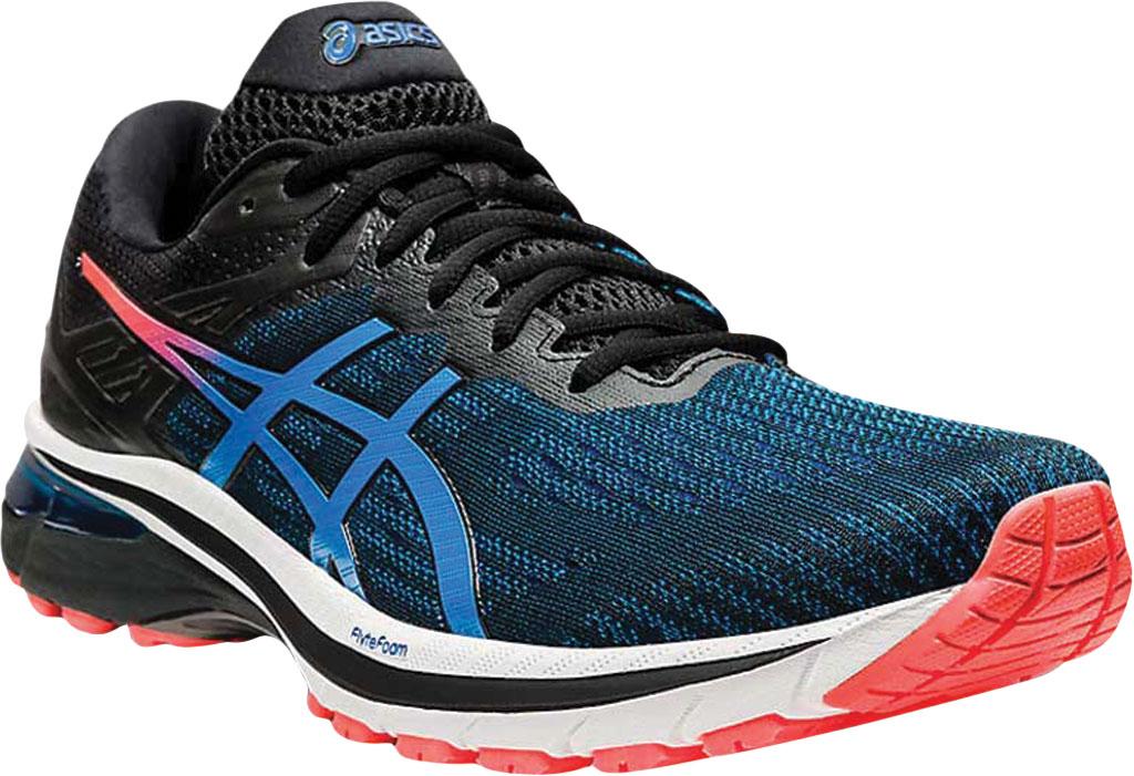 Men's ASICS GT-2000 9 Running Sneaker, Black/Directoire Blue, large, image 1