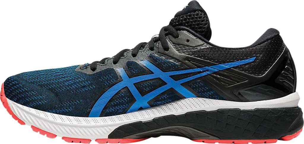 Men's ASICS GT-2000 9 Running Sneaker, Black/Directoire Blue, large, image 3
